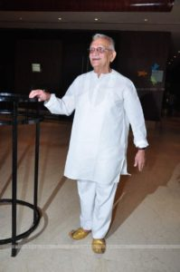 Gulzar at Launch of Film 'A Death in the Gunj'
