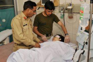 Pakistani army docto Malala Yousafzai, 14