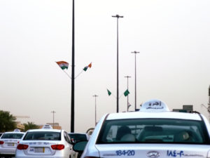 riyadh-indian-flags